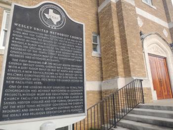 Wesley United Methodist Church; Photo: Shane Ford 2015