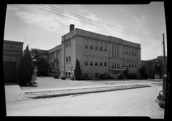 L.C. Anderson High School -- 1912 Building. Douglass, Neal; Photograph, January 1, 1950