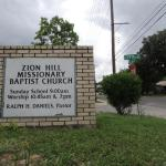 Zion Hill Missionary Baptist Church; Photo: Shane Ford (2015)